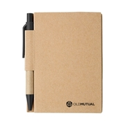 Picture of Mini recycled notebook and pen