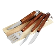 Picture of 4 Piece Braai And Cutting Board Set