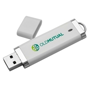 Picture of White 8GB memory stick