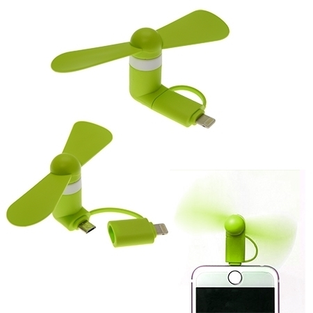 Picture of Mini smartphone fan for Mobiles with OTG functions