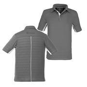 Picture of Mens Prescott Golf Shirt - Grey
