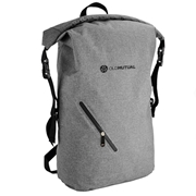 Picture of Melange Waterproof Backpack With Diagonal Zip