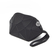 Picture of Black Geometric Cosmetic Bag