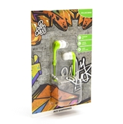 Picture of Pro Bass Dollrz Series Stereo Aux Earphones