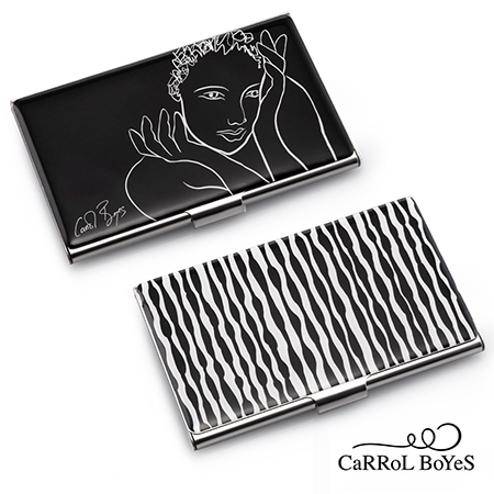 Picture of Carrol Boyes Business Card Case FOG