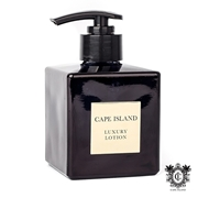 Picture of Black Gold Fragranced Luxury Lotion Glass