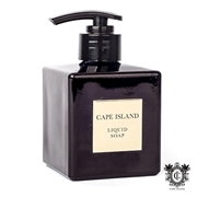 Picture of Black Gold Fragranced Luxury Liquid Soap Glass