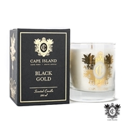 Picture of Black Gold Medium Scented Candle With Box