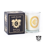 Picture of Black Gold Mini Scented Candle With Box