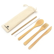 Picture of Bamboo Cutlery Set Of 5
