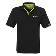 Picture of Mens Solo Golf Shirt - Lime