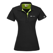 Picture of Ladies Solo Golf Shirt - Lime