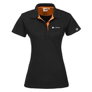 Picture of Ladies Solo Golf Shirt - Orange