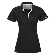 Picture of Ladies Solo Golf Shirt - White