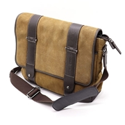Picture of Enzo Leather Messenger Bag