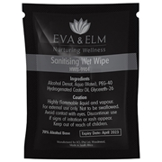 Picture of Eva & Elm Hereford Sanitising Wet Wipe
