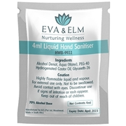 Picture of Eva & Elm Buxton Liquid Hand Sanitiser 4ML