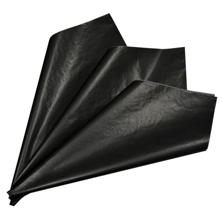 Picture of Black tissue paper (Pack of 25)