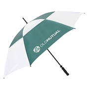 Picture of Old Mutual Golf Umbrella Green And White