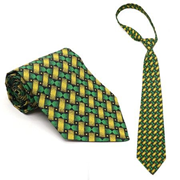 Picture of Mens Shweshwe Design Tie