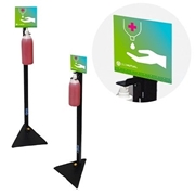 Picture of Universal Foot Operated Hand Sanitiser Stand V3
